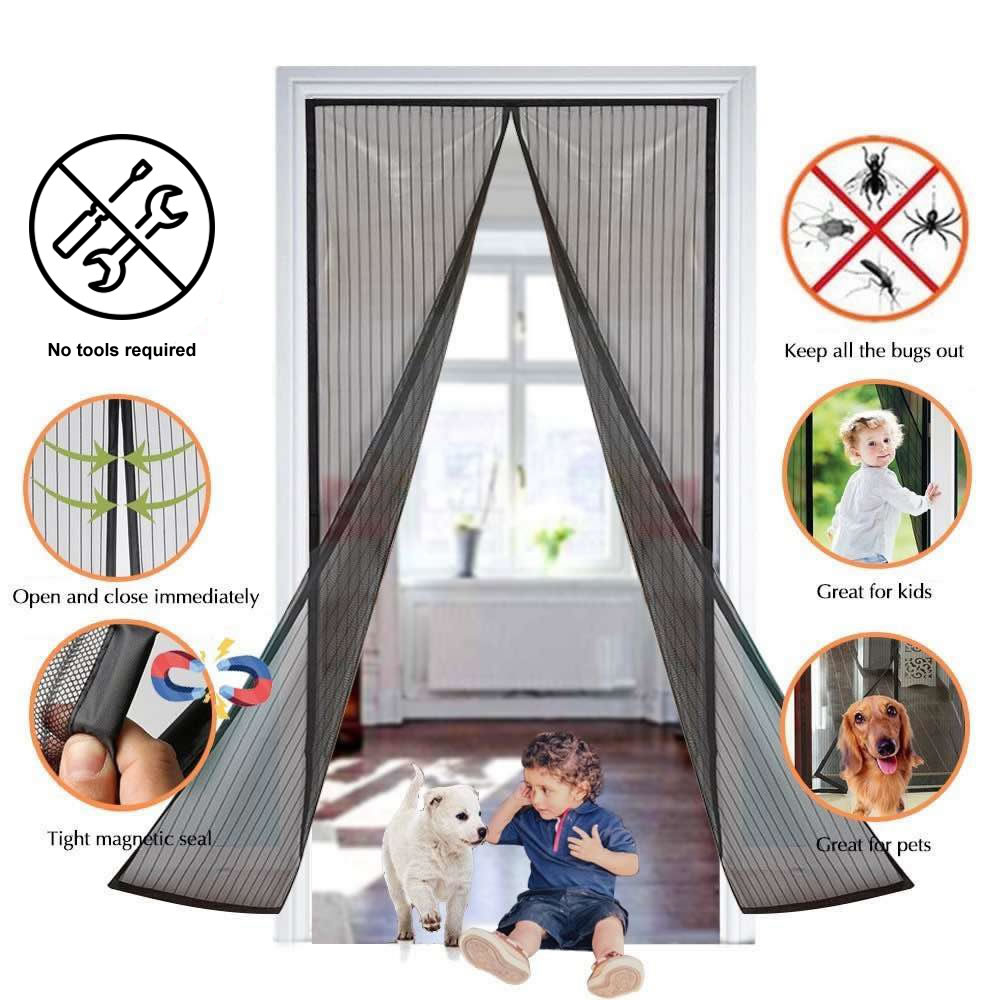 magnetic flyscreen door
