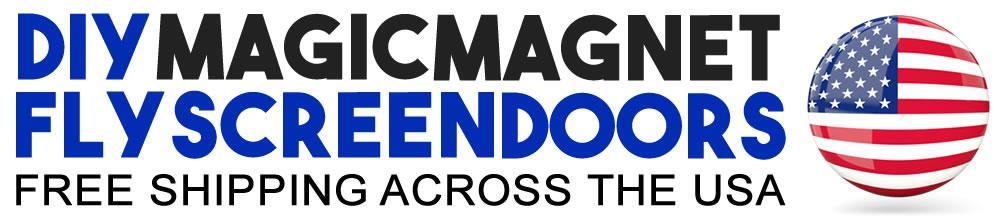 Magic Magnet Flyscreen Doors | USA